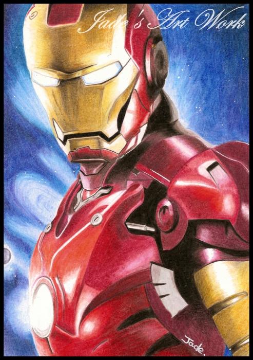 Robert Downey Jr by JadesArtWork